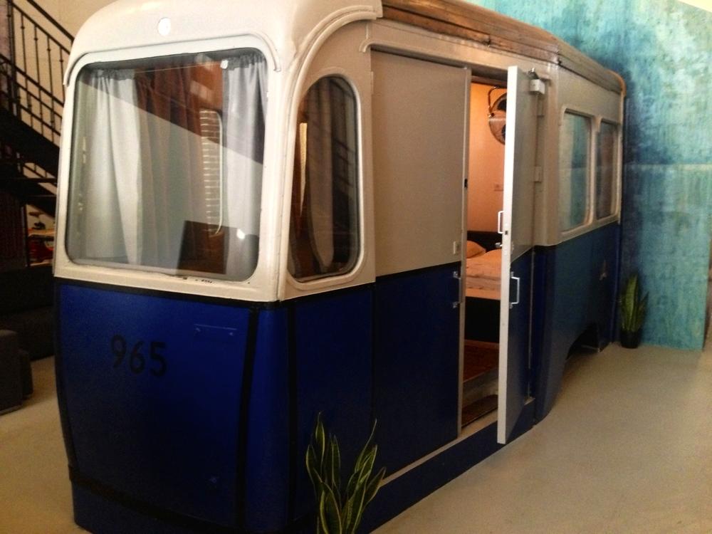 Streetcar room