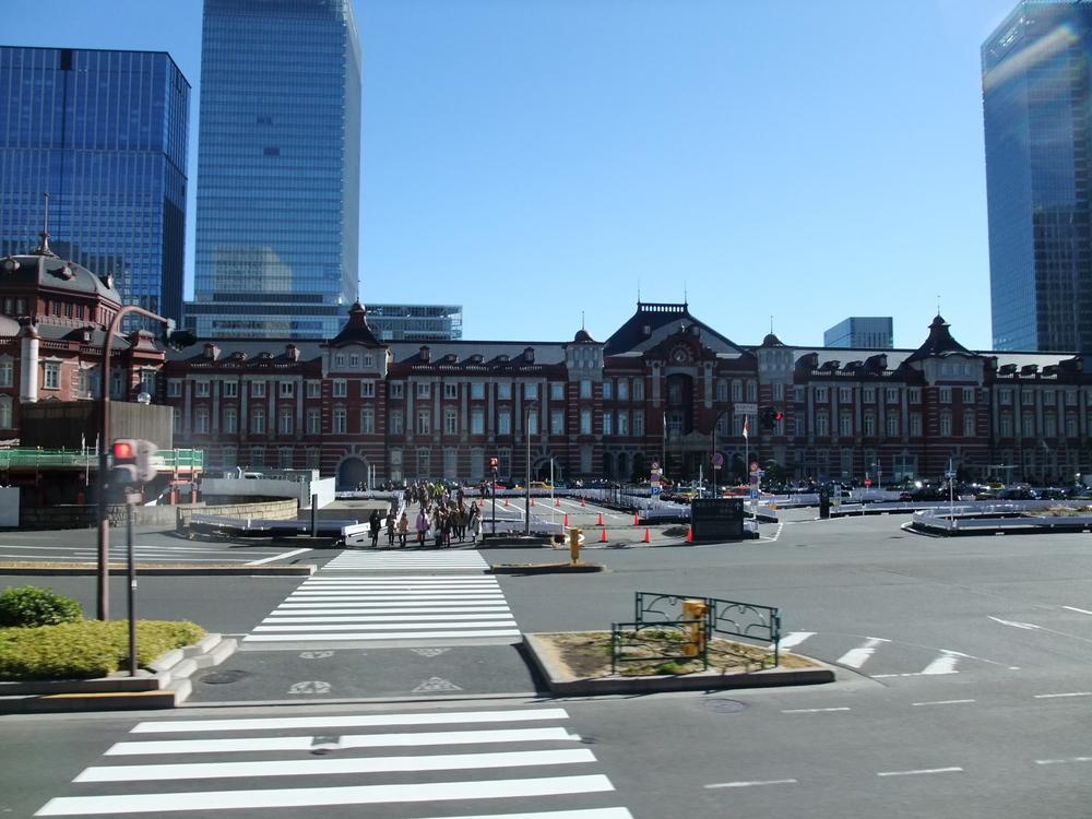Tokyo Station above ground