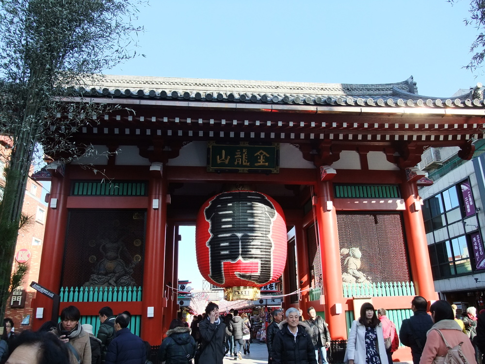 Entrance to Senso-ji
