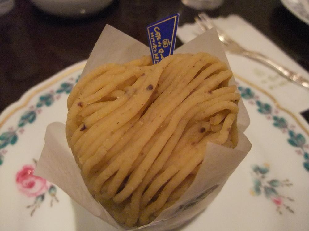 "A ""spaghetti"" dessert"