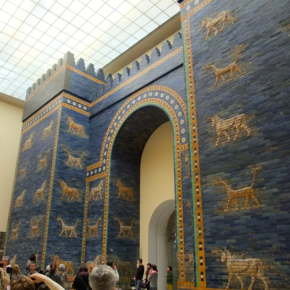 Ishtar Gate of Babylon at the Pergamon Museum