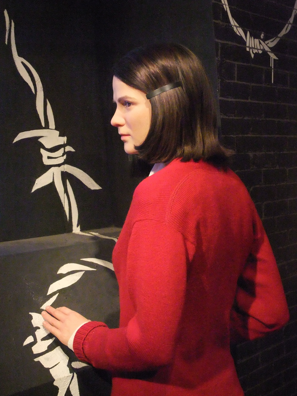 Sophie Scholl at Madame Tussauds
