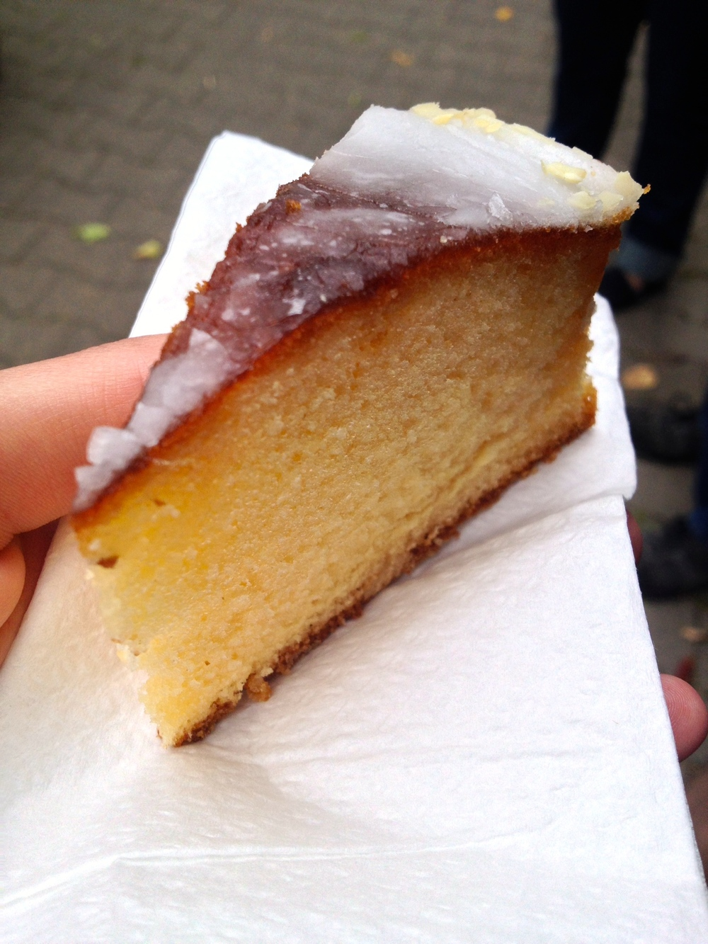 Sicilian lemon cake at  Backerei Kronberger