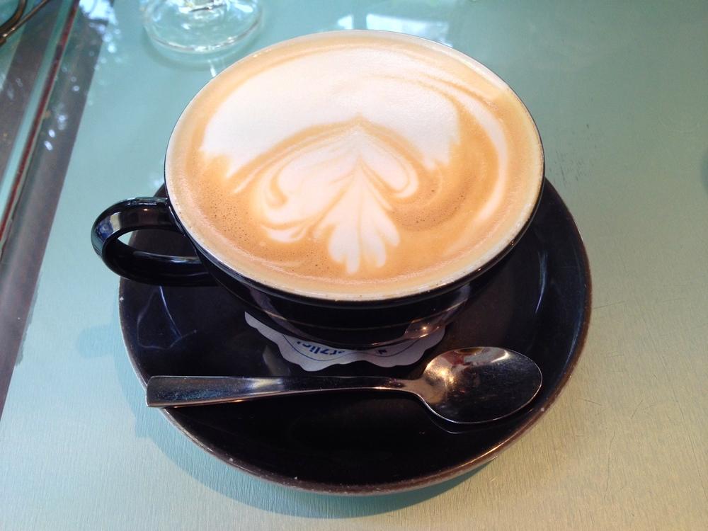 My café au laitat Café Chamäleon