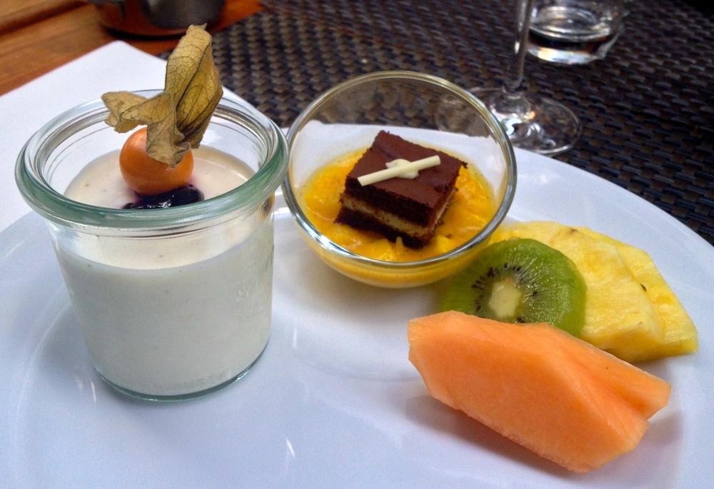 My third plate of dessert