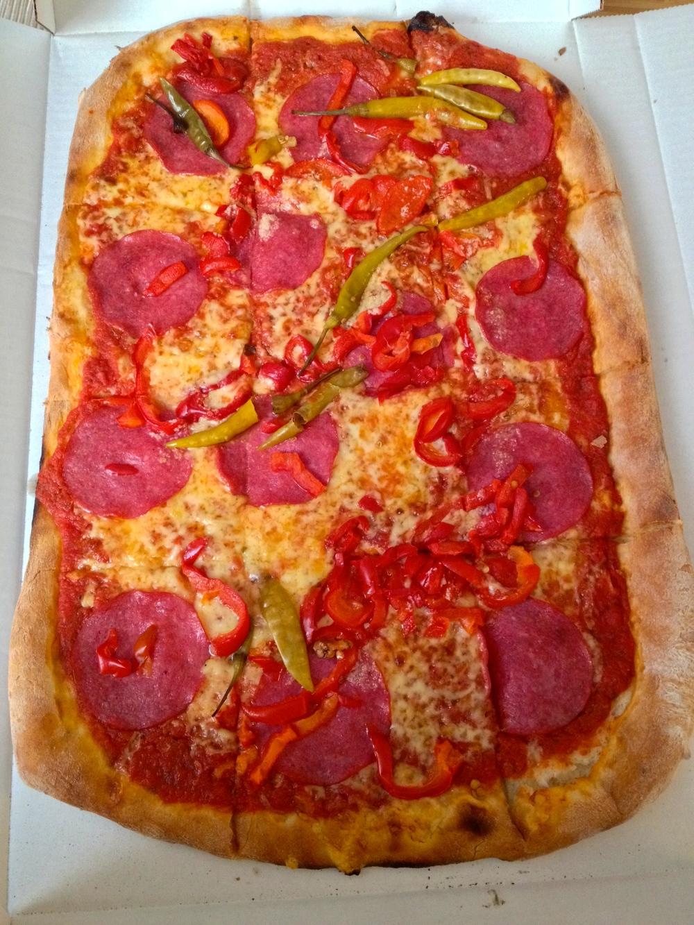 Pizza Diavolo (family size)