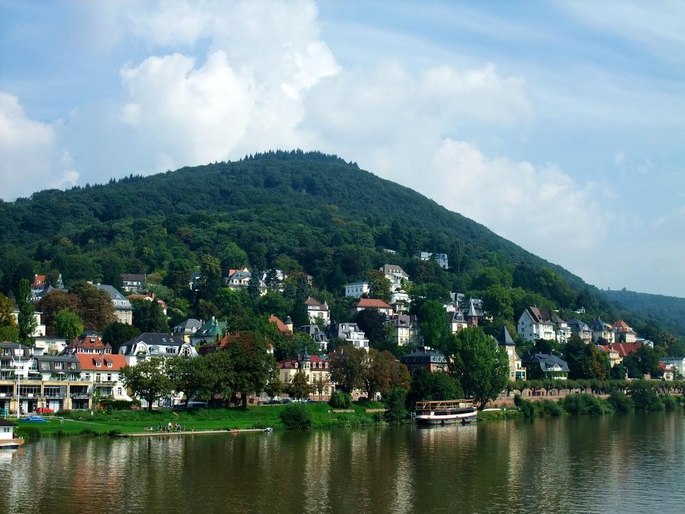 Heiligenberg  -- our hiking destination