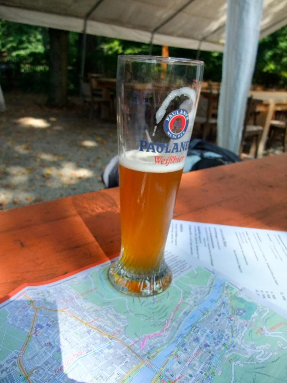 Victory beer at Waldschenke
