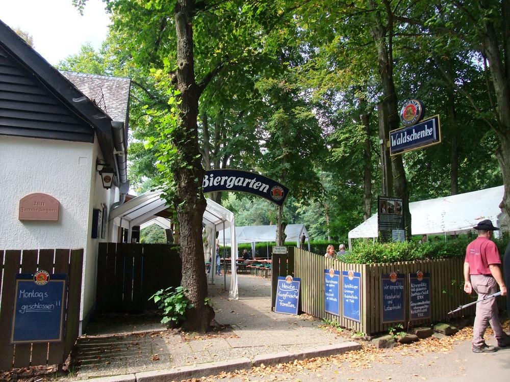 Waldschenke biergarten