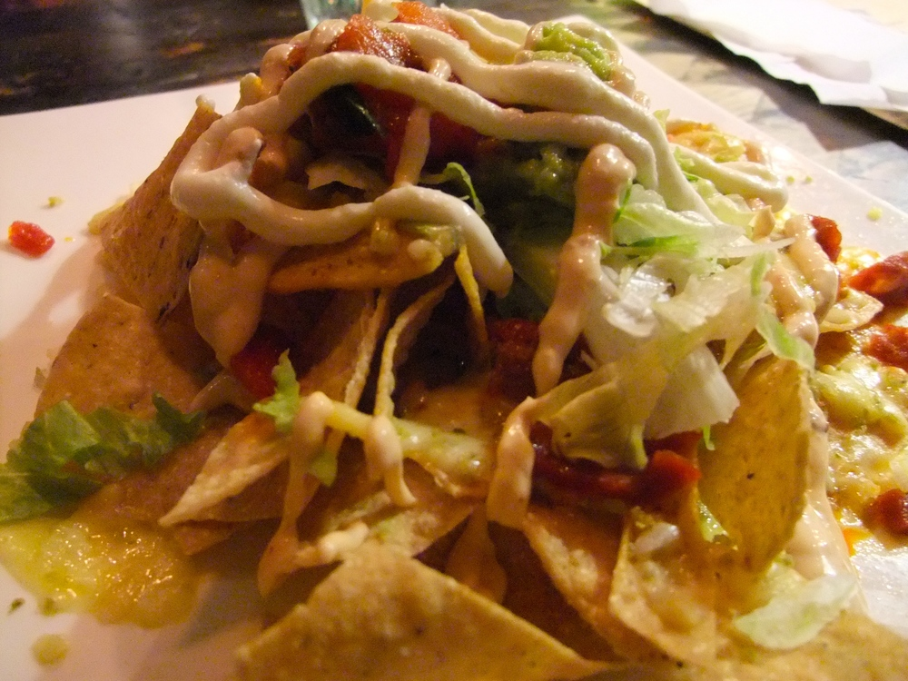Nachos at Cantina