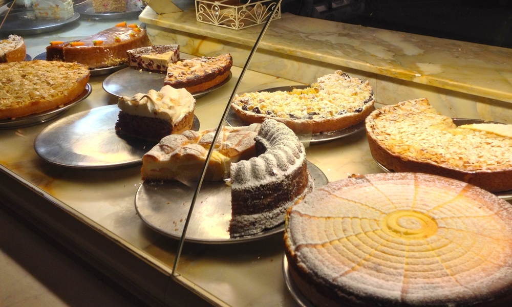 The more traditional German cakes
