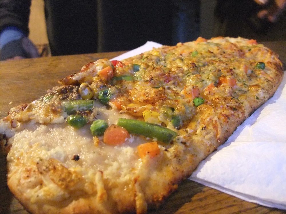 Vegetable  Flammkuchen