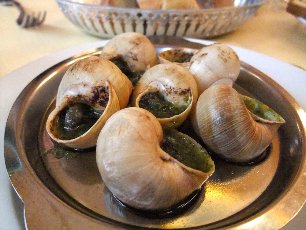 Escargot  at  Restaurant Le Royal Vendôme