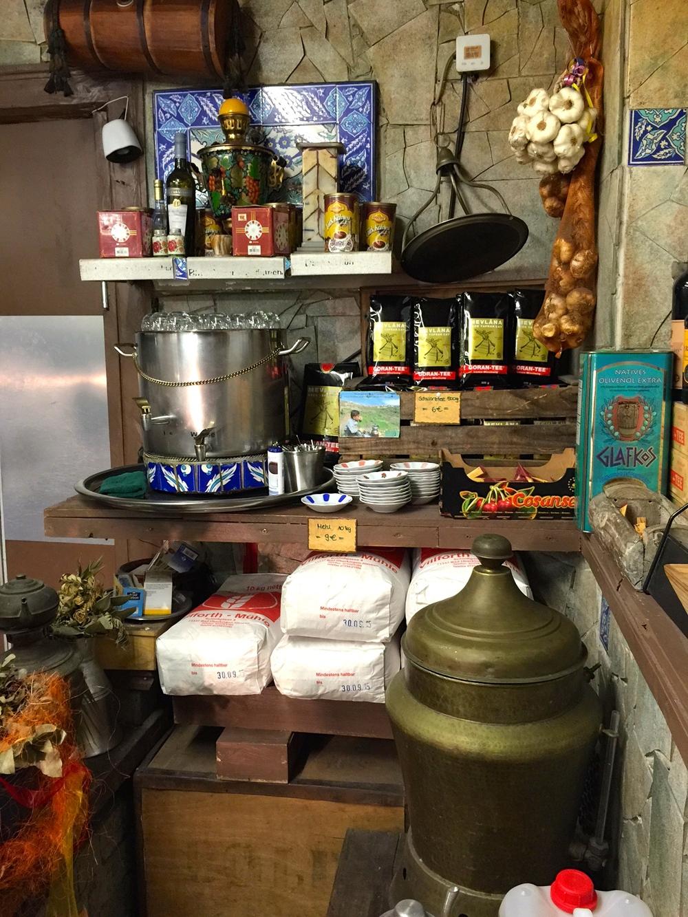A peek inside the kitchen at Alaturka