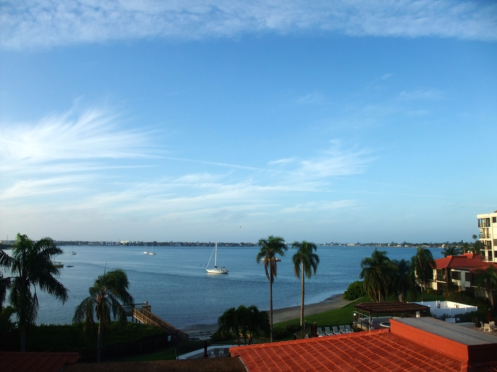 The view from my mother's place on Isla del Sol