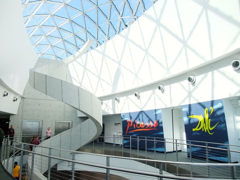 Inside the Dali Museum