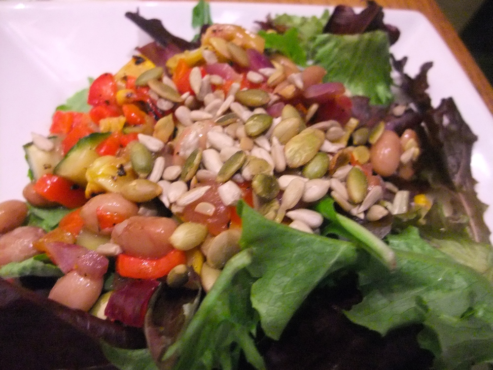 Three Sisters Garden salad at Ulele