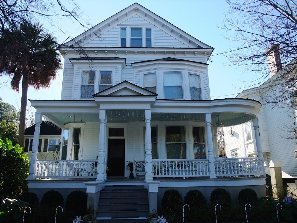 My old family home in Charleston
