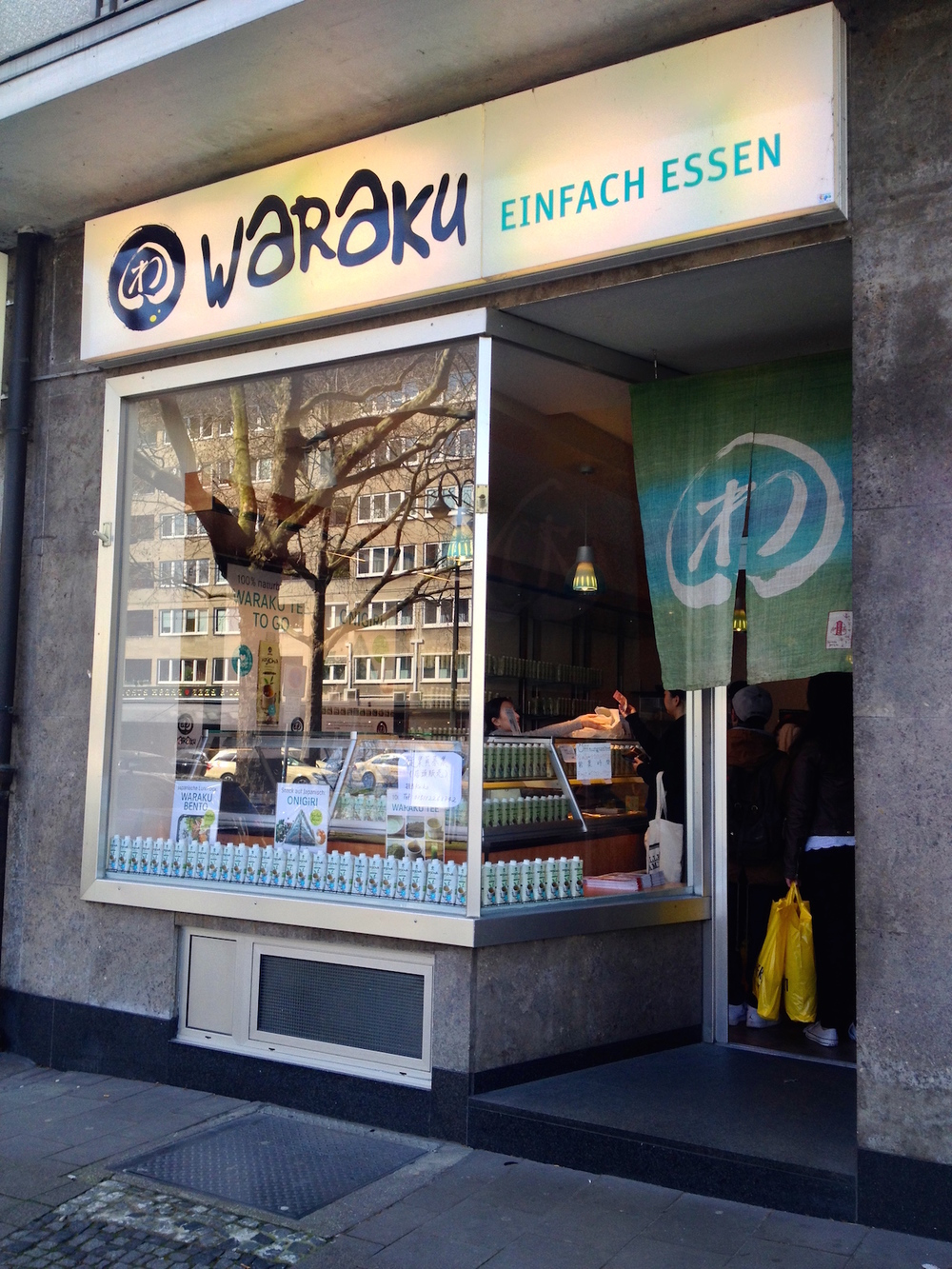 Waraku onigiri shop