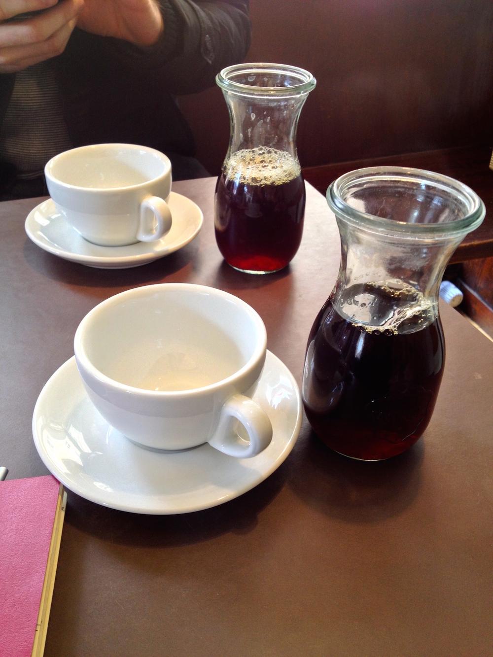 Woyton drip brew coffee
