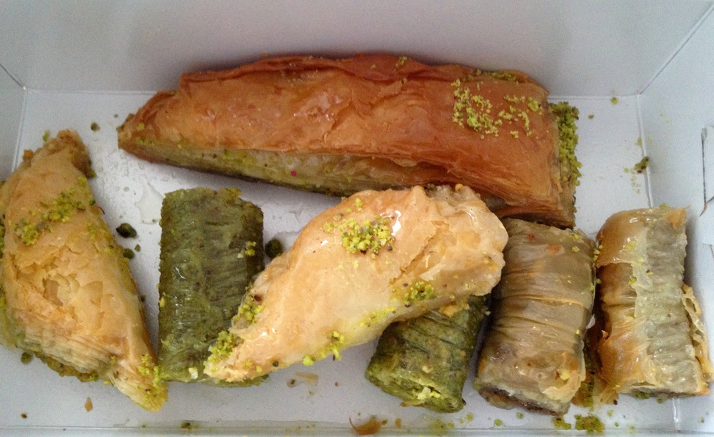 More baklava to take home