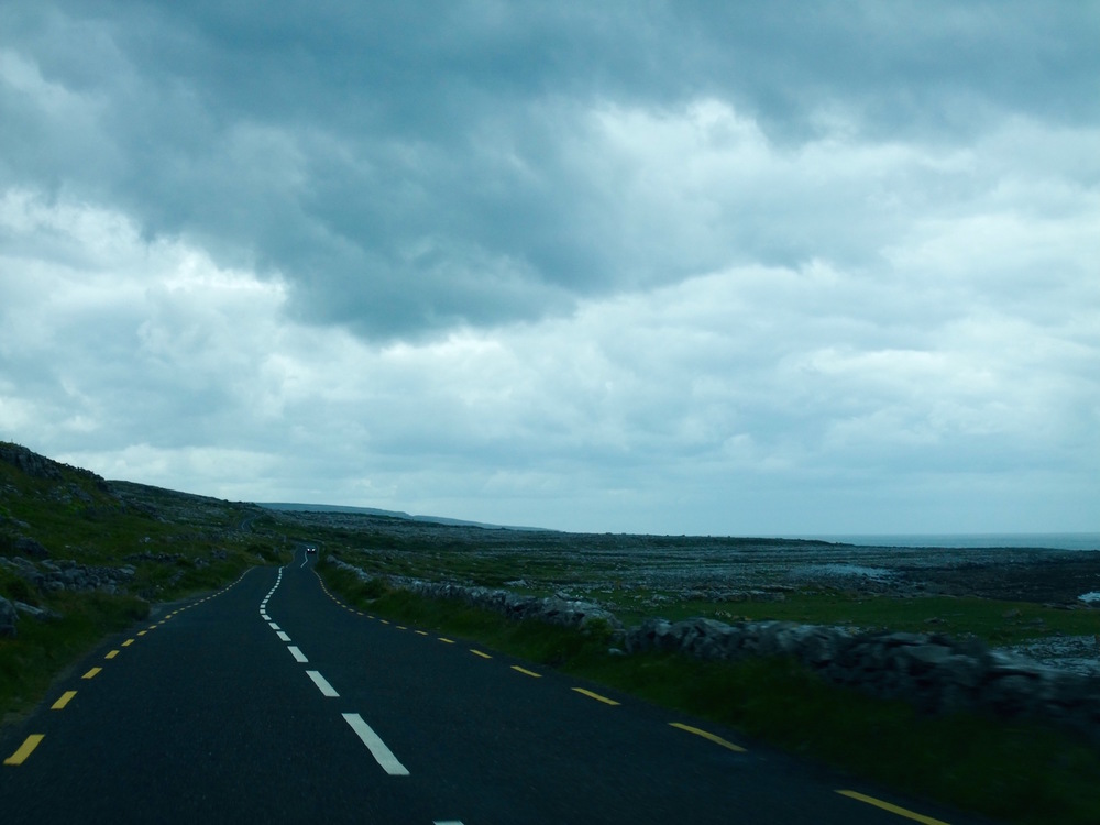 Driving through Ireland