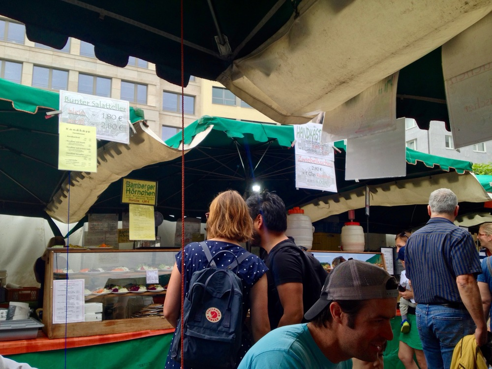 The best food stall at the market (look for the green awning)