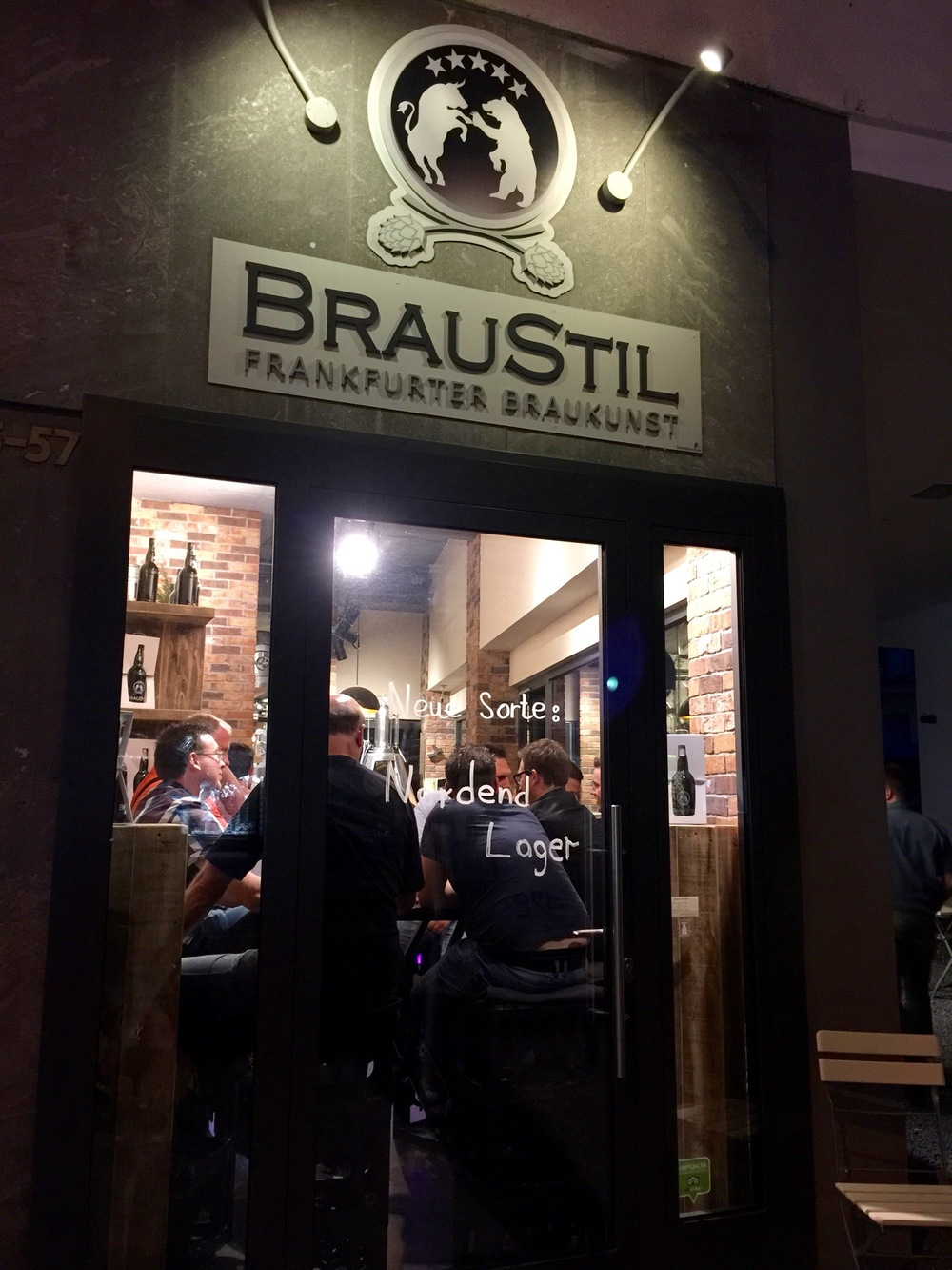 The Braustil brewery