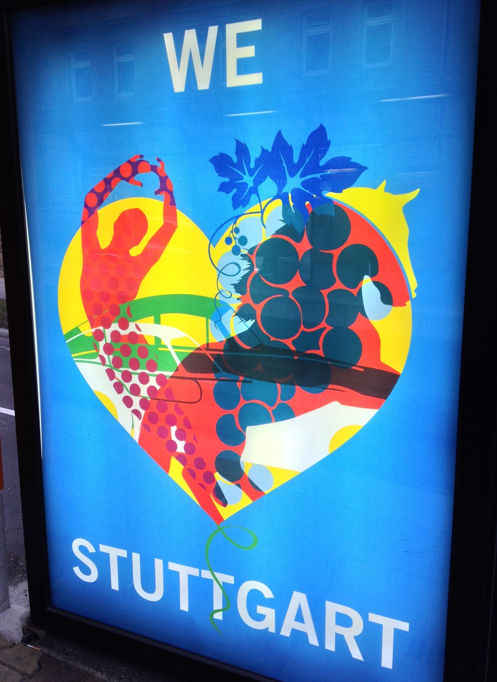 A recent poster promoting the city
