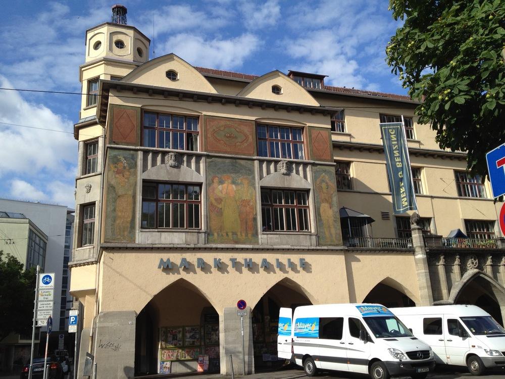 Stuttgart's covered market hall