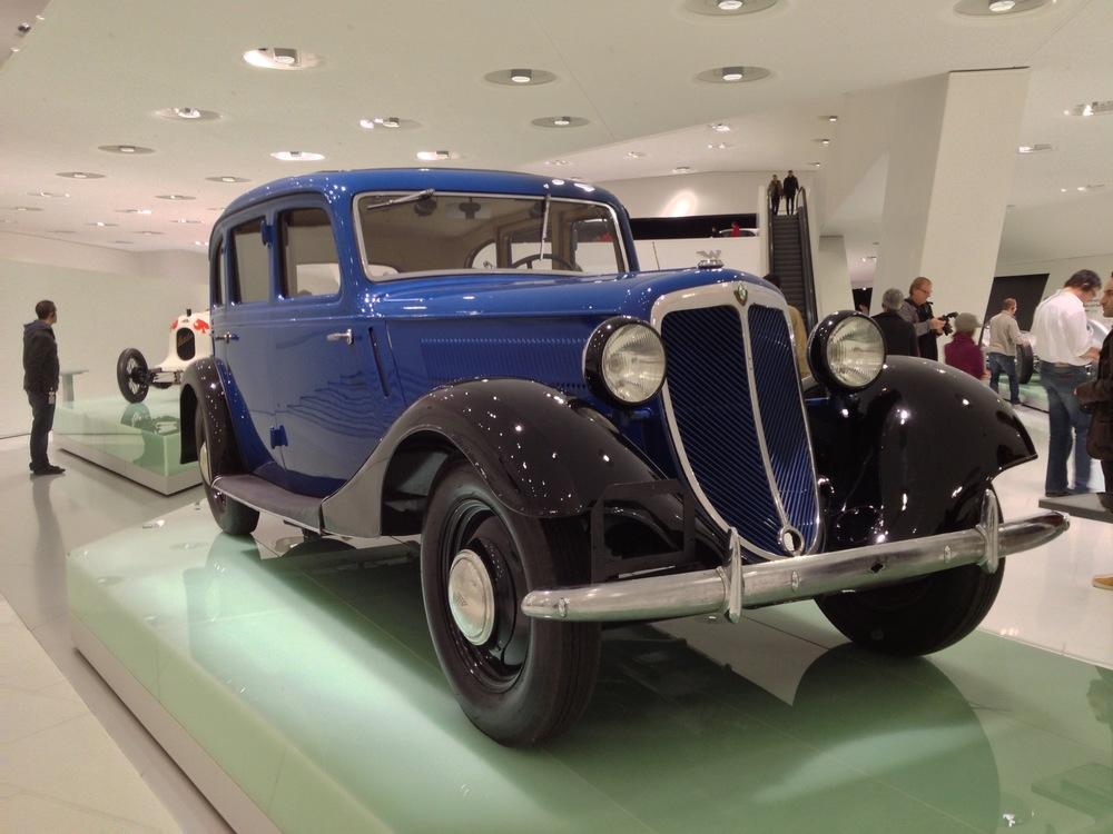 Inside the Porsche Museum