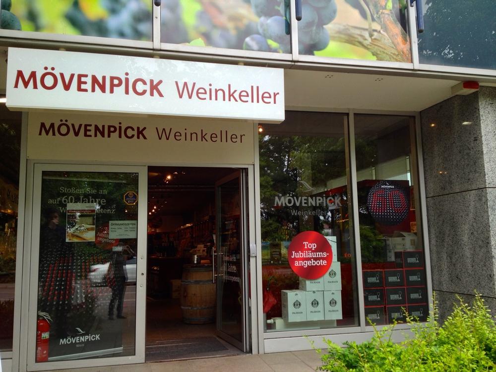 Mövenpick wine store