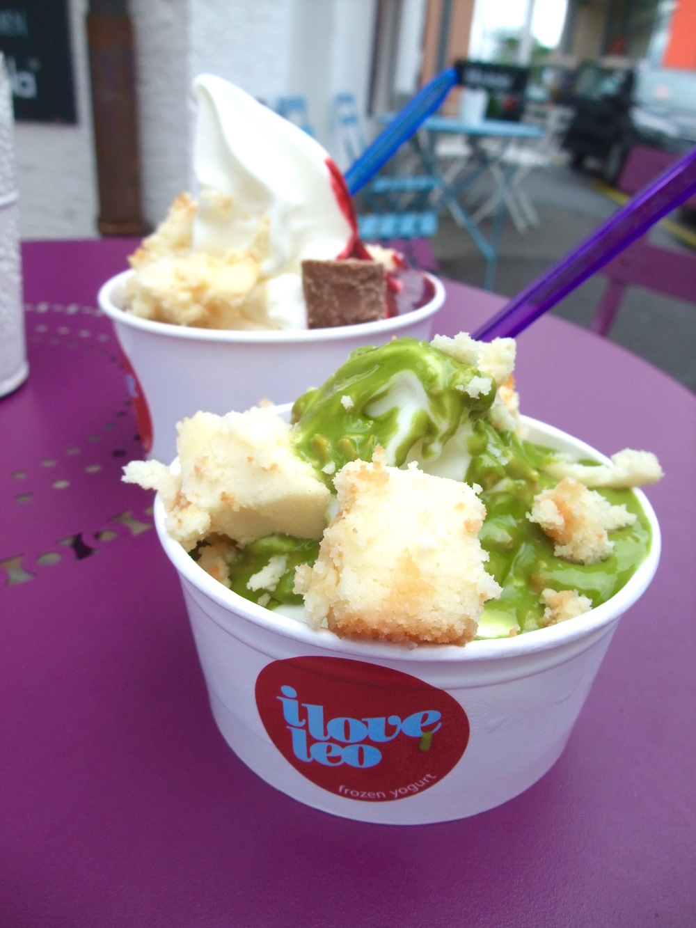 Frozen yogurt from I Love Leo