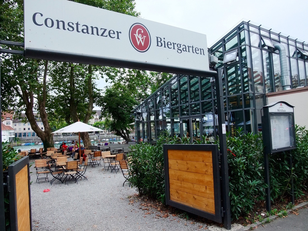 The Biergarten at Constanzer Wirtshaus