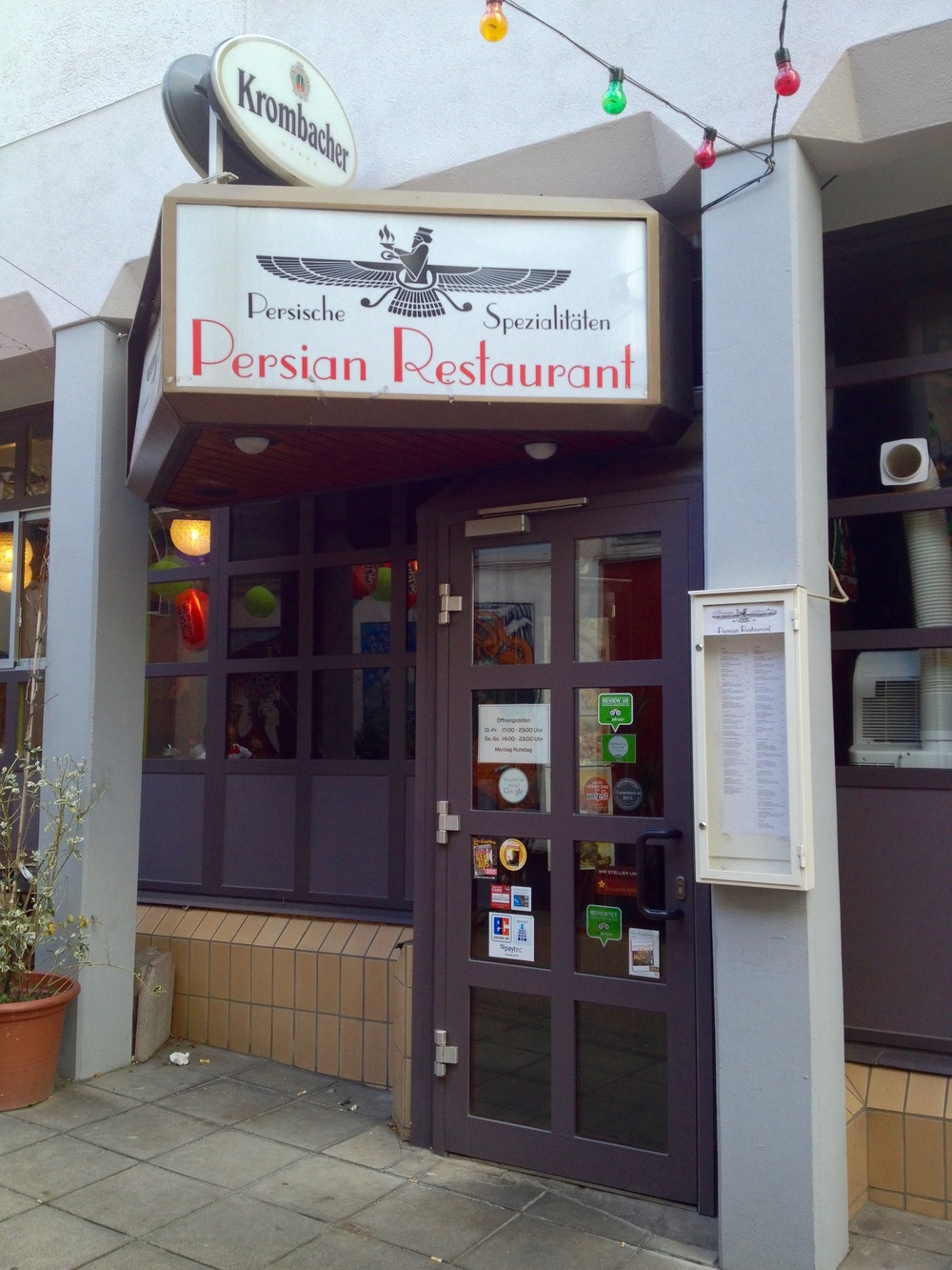 The Persian Restaurant