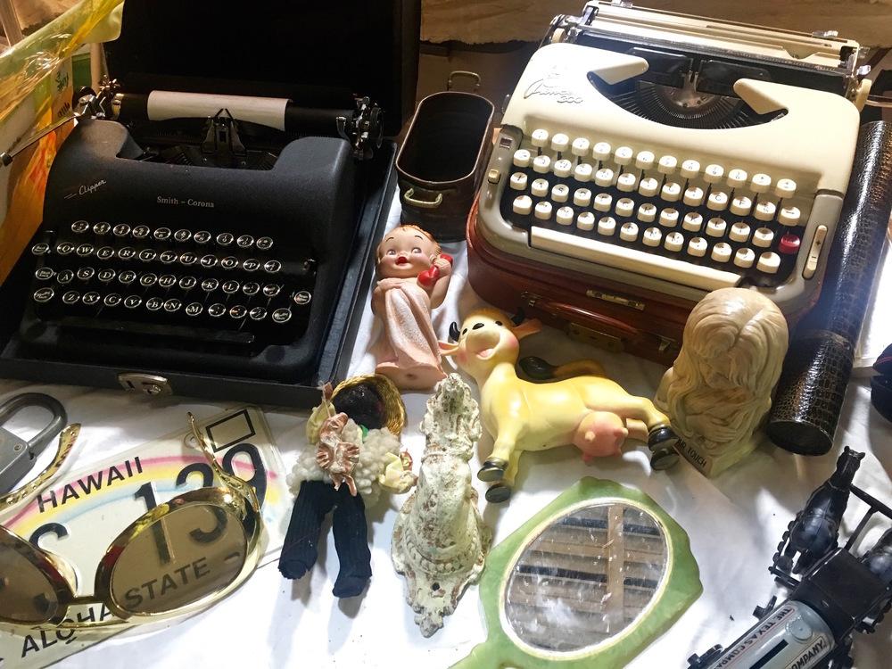 Antiques at the Fremont Market