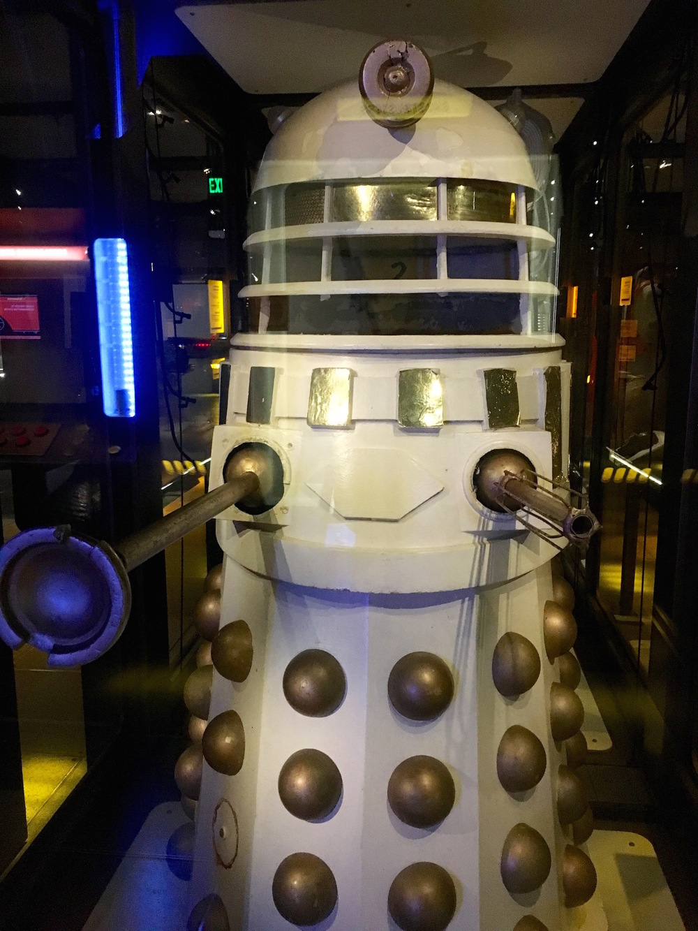A dalek at the EMP Museum