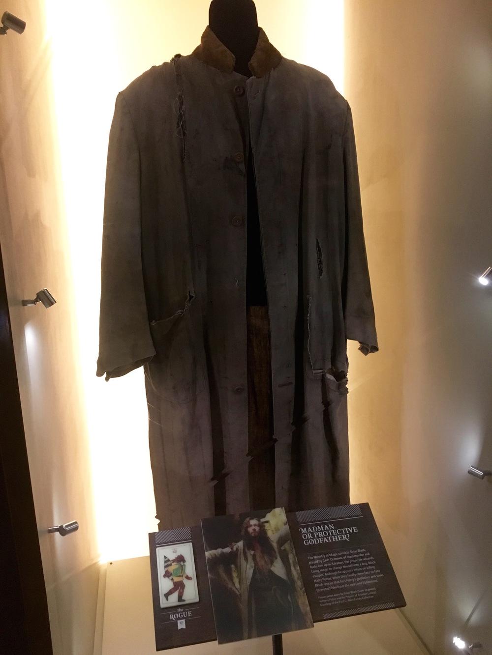 Sirius Black's robe at the EMP Museum