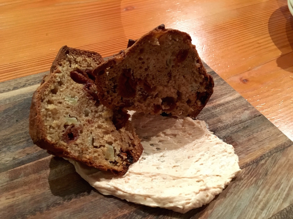 Cherry Bread with Bourbon Butter at Local 360