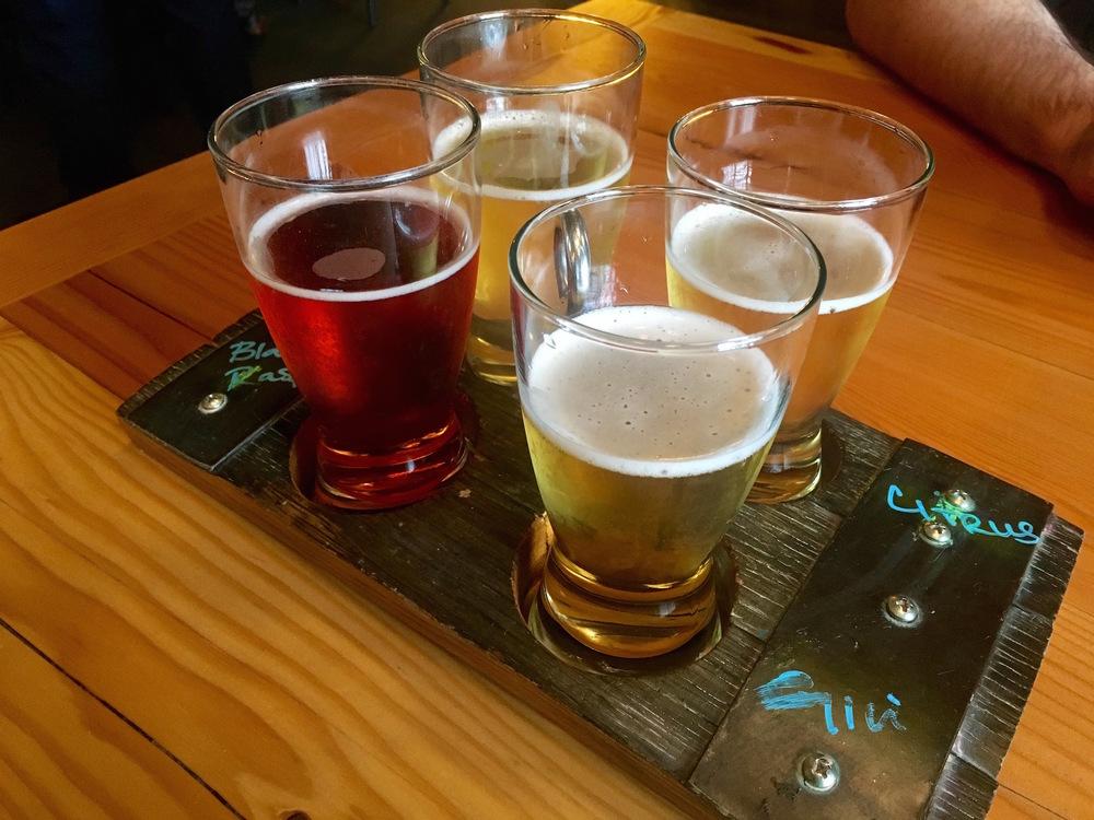 Cider tasting at Seattle Cider