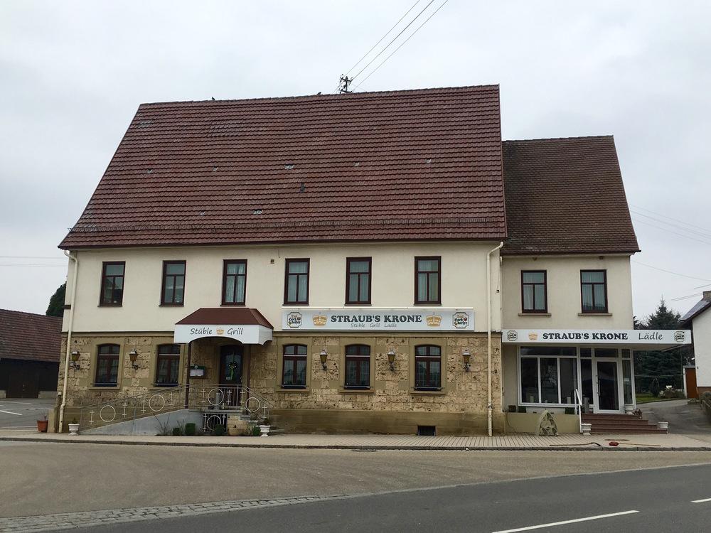 Straub's Krone in Horb-Bildechingen