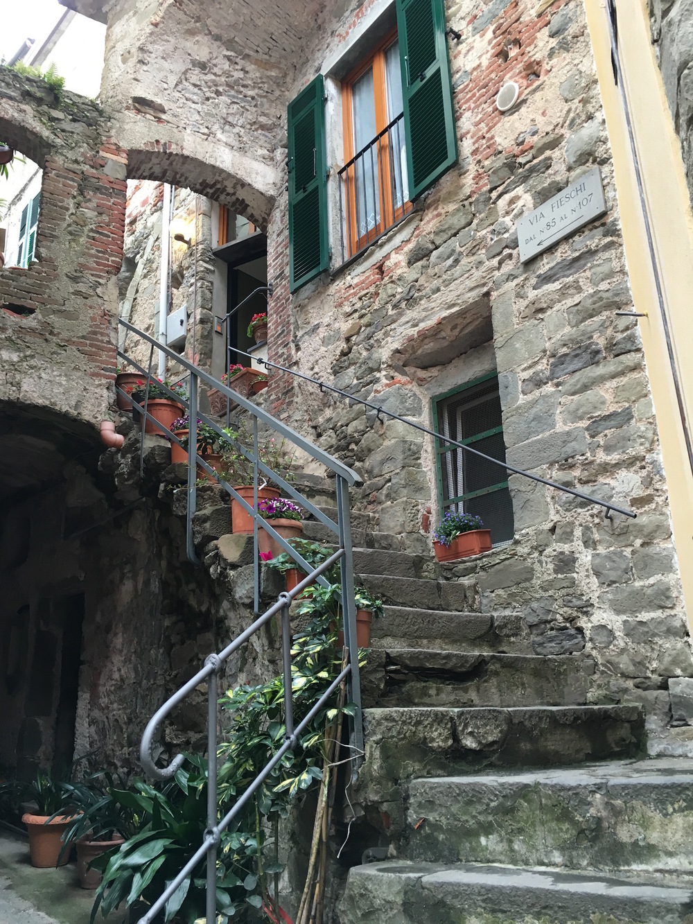 Side street in Corniglia