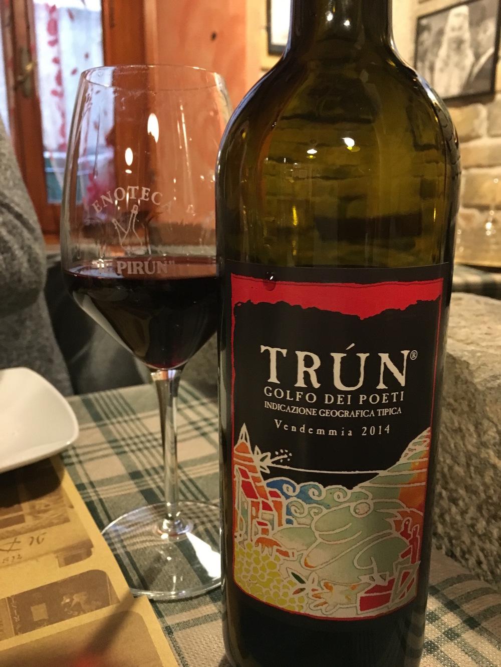 Cinque Terre DOC wine
