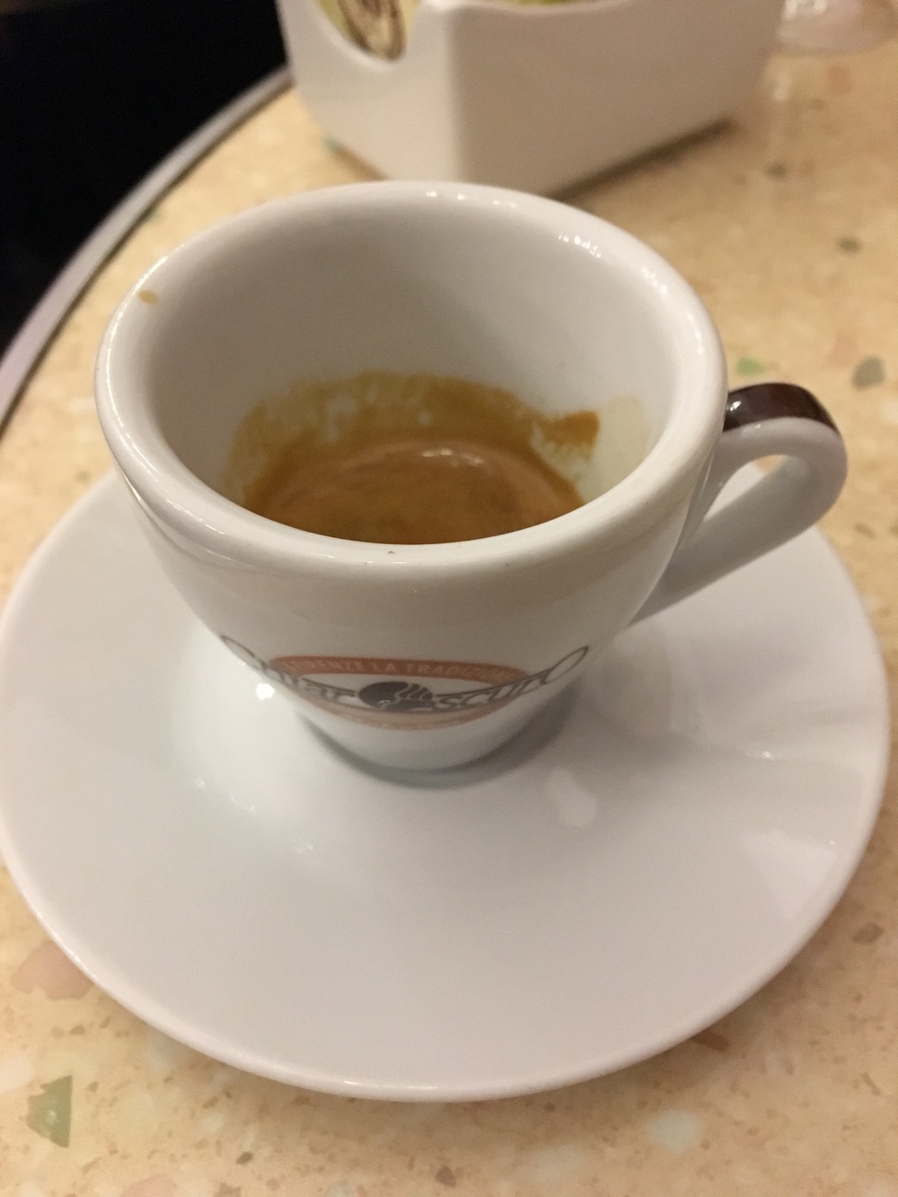 Espresso made from 100% Arabica