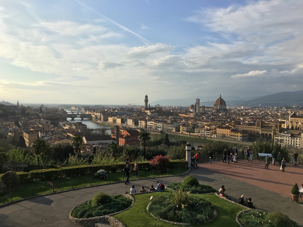 Florence from the  Piazale Michaelangelo