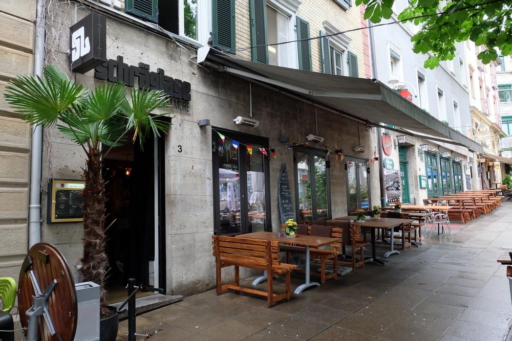 The restaurant at Wilhelmsplatz