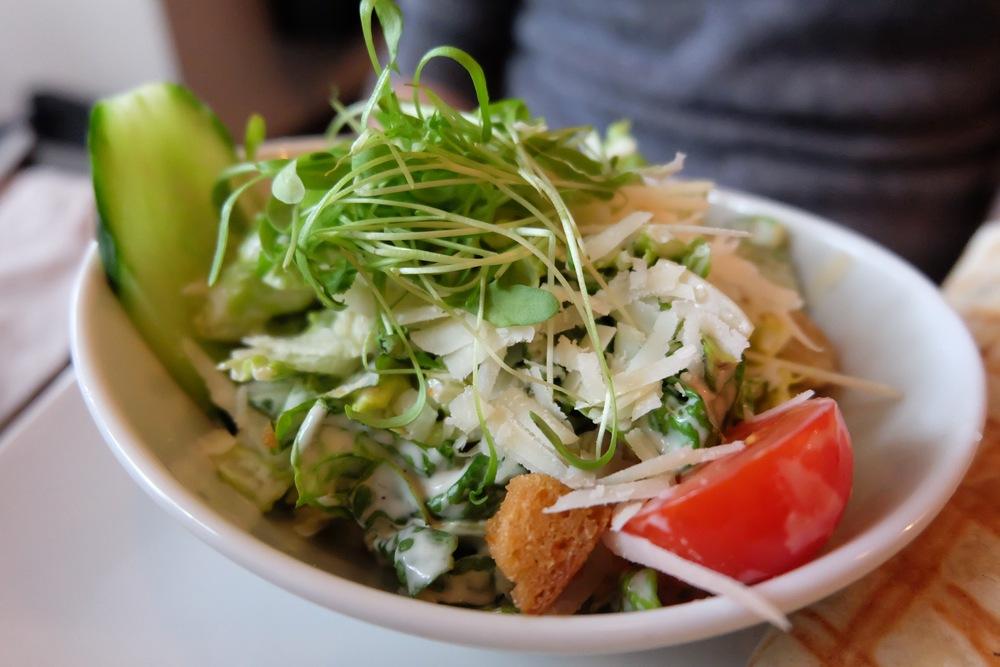 A side Caesar salad