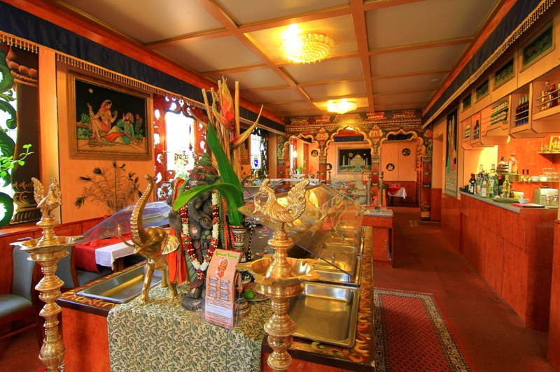 The interior of Vinayaga (photo courtesy of their website)