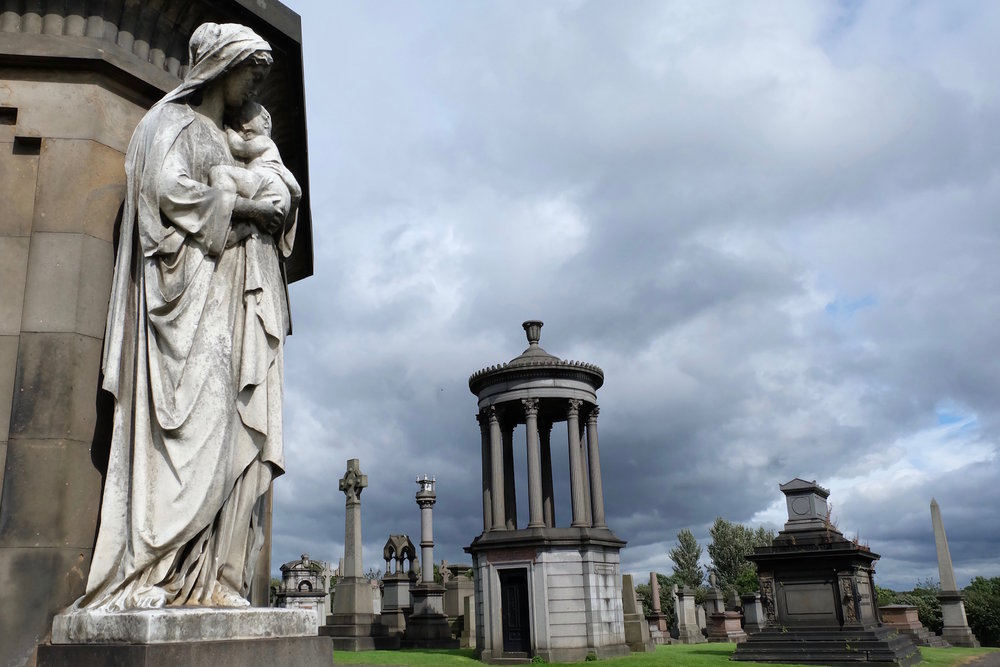 The Necropolis in Glasgow