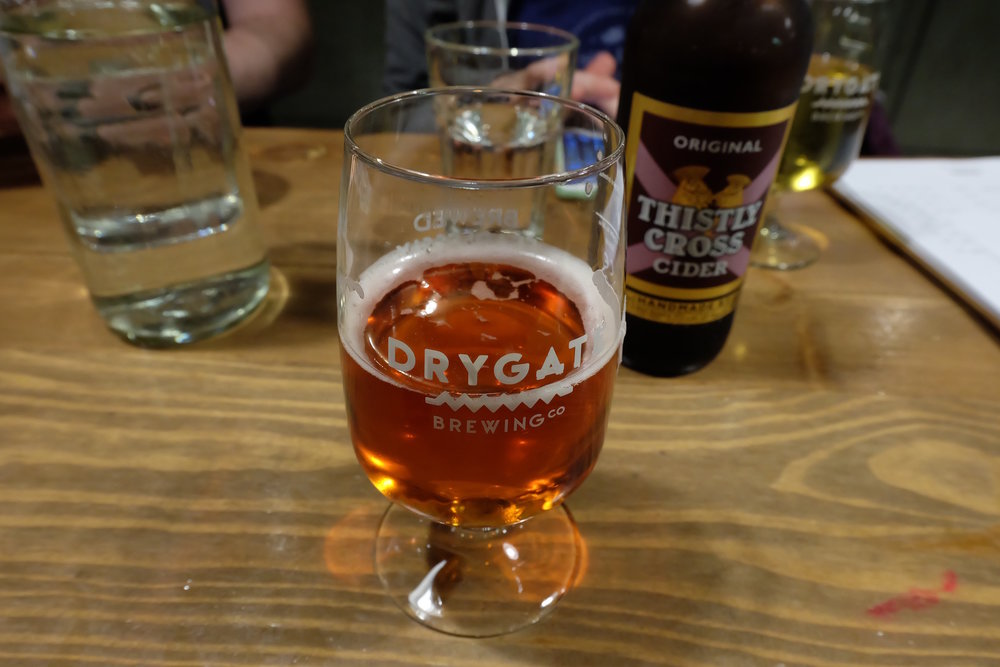 Outaspace Apple Ale at Drygate